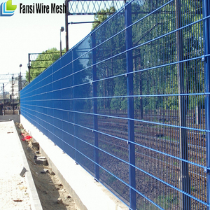 Residential 3000mm long Powdercoated weldmesh for security fencing