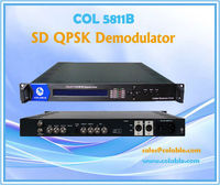COL5811B QPSK Demodulator, digital satellite receiver decoder,decoder box cable tv