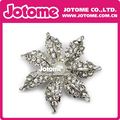 2017 Hot sale best selling products Silver Crystal Pearl Rhinestone Brooches for wedding decoration for wedding decoration