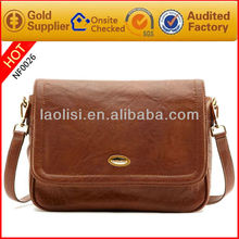 Famous brand name cross body bag leather satchel bag ladies side bags