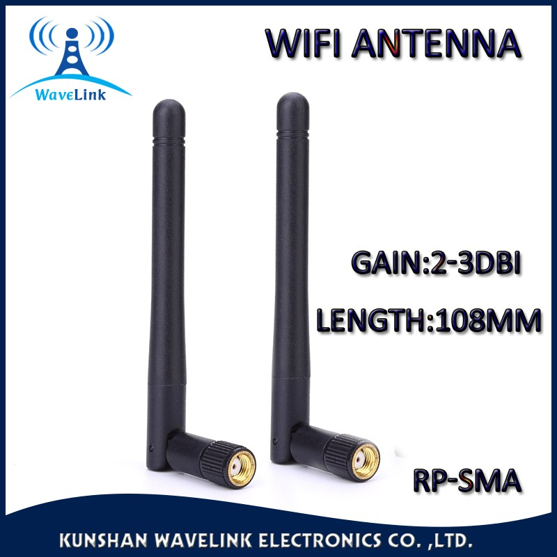 Factory Price Dual Band 5.8/5.0/2.4Ghz SMA Antenna Swivel 5Ghz WIFI Antenna With High Gan 3DBI