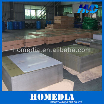 Supply Food Grade electrolytic tinplate sheet