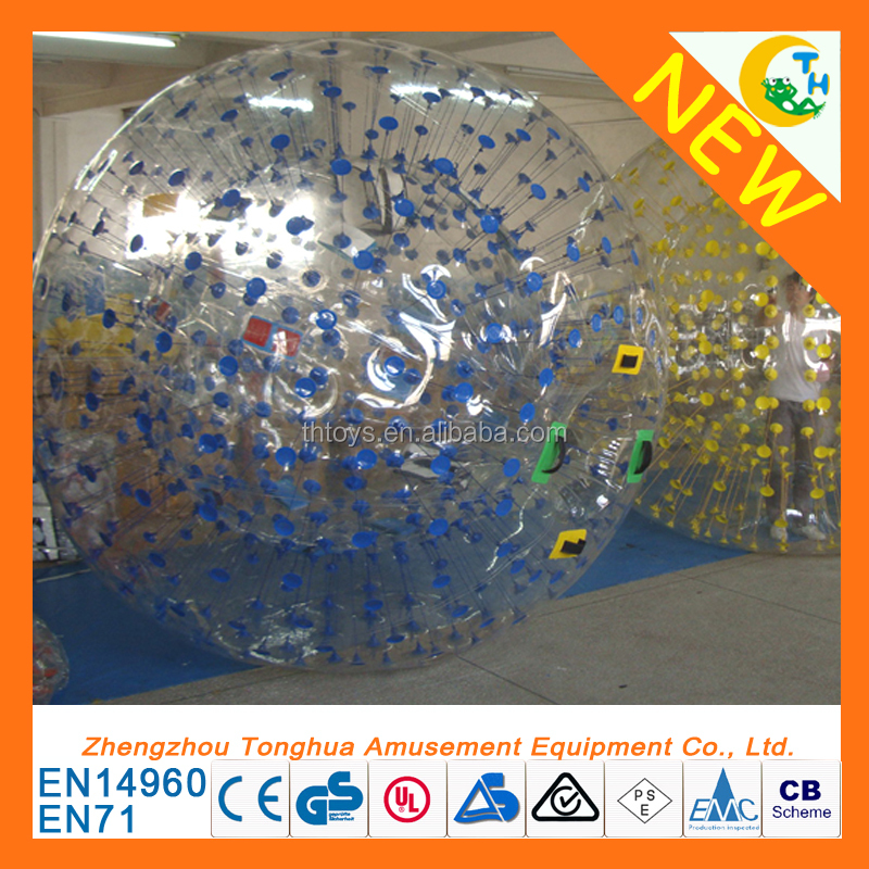 Best quality adult inflatable zorb ball rental human hamster ball for sale