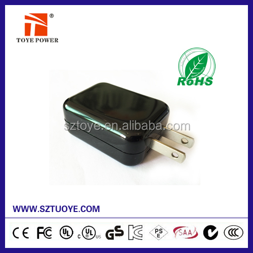 EU US UK KA Plug 5V 500mA 1A 2A USB Charger For iPad, Mobilephone,Tablet PC,PSP