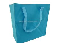 Polyester Reusable Foldable Shopping Bag With Pouch / wholesale reusable shopping bags / newest design promotion shopping bag
