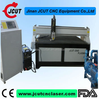 High speed/accuracy JCUT-2040(78.7''X157.4'') Easy Handle Hot Sale cheap router cnc plasama for metal and wood