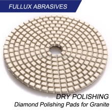 100mm dry polishing pads for granite and engineered stone
