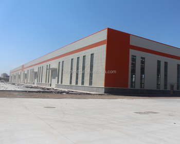 China Economic Factory Steel Structure Workshop Prefabricated Sheds For Brazil