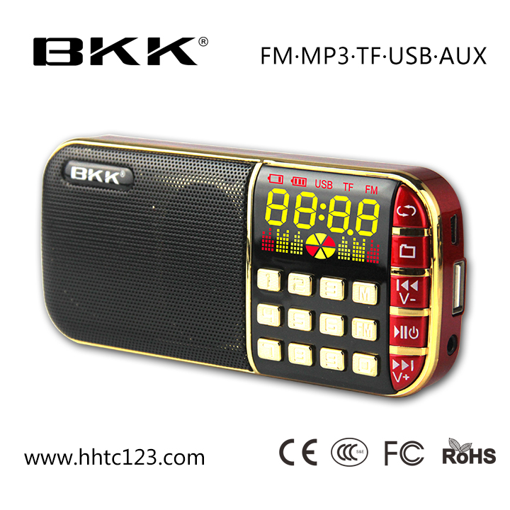 Promotional speaker with USB / TF / FM slot ,mini bluetooth speaker for mobile phone (Q70 )