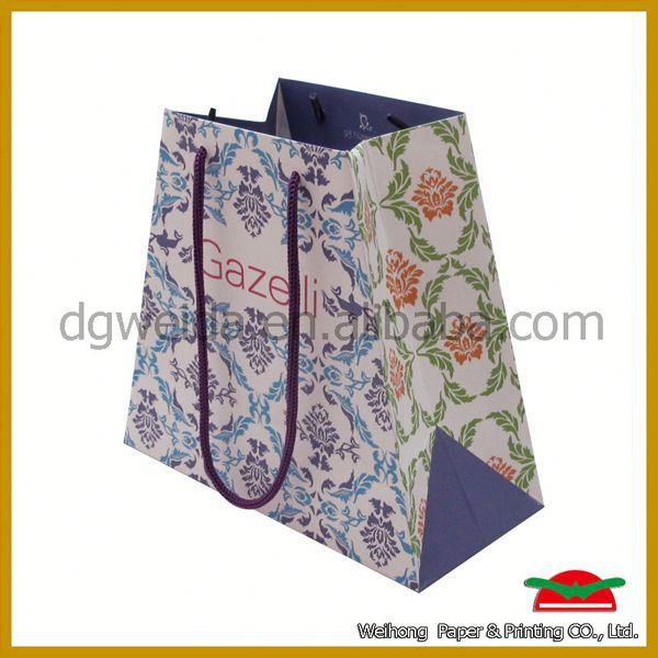 shopping bag paper with handle,supply shopping bag in dubai