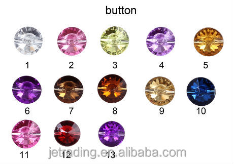 Crystal sofa buttons,furniture button