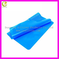Brand new non-stick silicone baking mat, cookie pastry mat, rolling pastry mat sheet, blue insulating pad