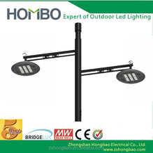 An antique style led street light 6000 lm with photo cell