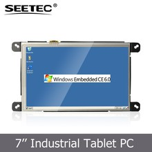 16:9 embedded tablet touch screen windows control resolution 800x480 wifi terminal pc
