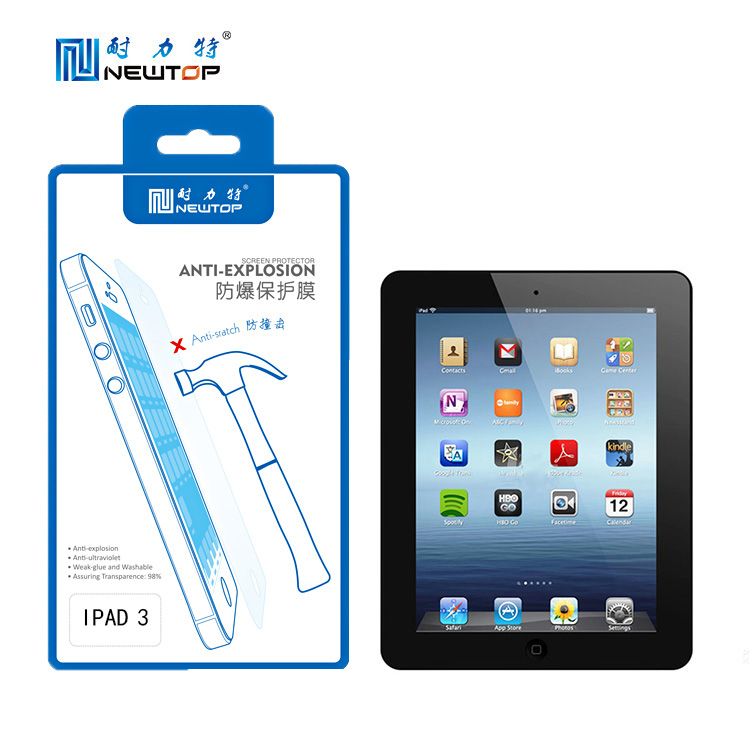 Favorites Compare Super scratch guard tablet protect film screen protector for ipad3
