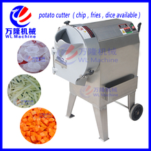 automatic industrial potato peeler and cutter