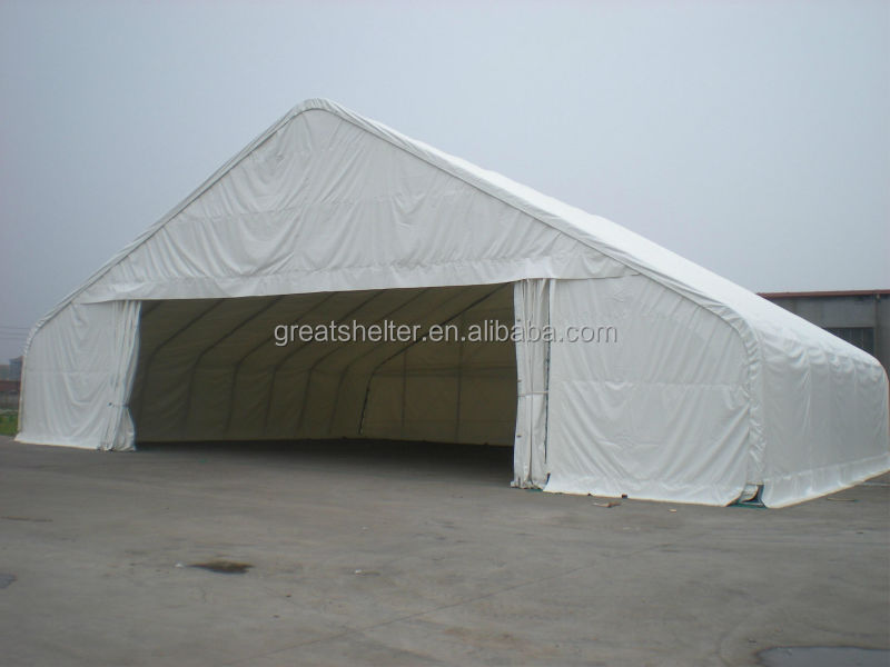 Outdoor 20m Wide Clear Span Metal Steel Structure Building