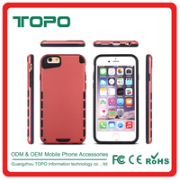 factory price TPU PC 2in1 phone cover for iphone 5s se 6 6s plus hybrid Shockproof Armor hard plastic Protective cell back Case