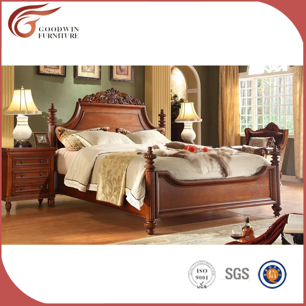 Bedroom Furniture Oak Wooden Luxury Style Bedroom Furniture Antique