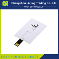 Wholesale good design 8GB slim design usb card flash drives