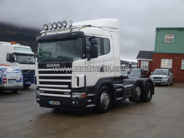 2003 Scania 124L 420 6X2 Tractor unit Truck RHD Right Hand Drive