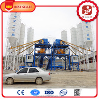 Road construction equipment, Concrete Mixing Plant HZS90 with production of 90m3/h