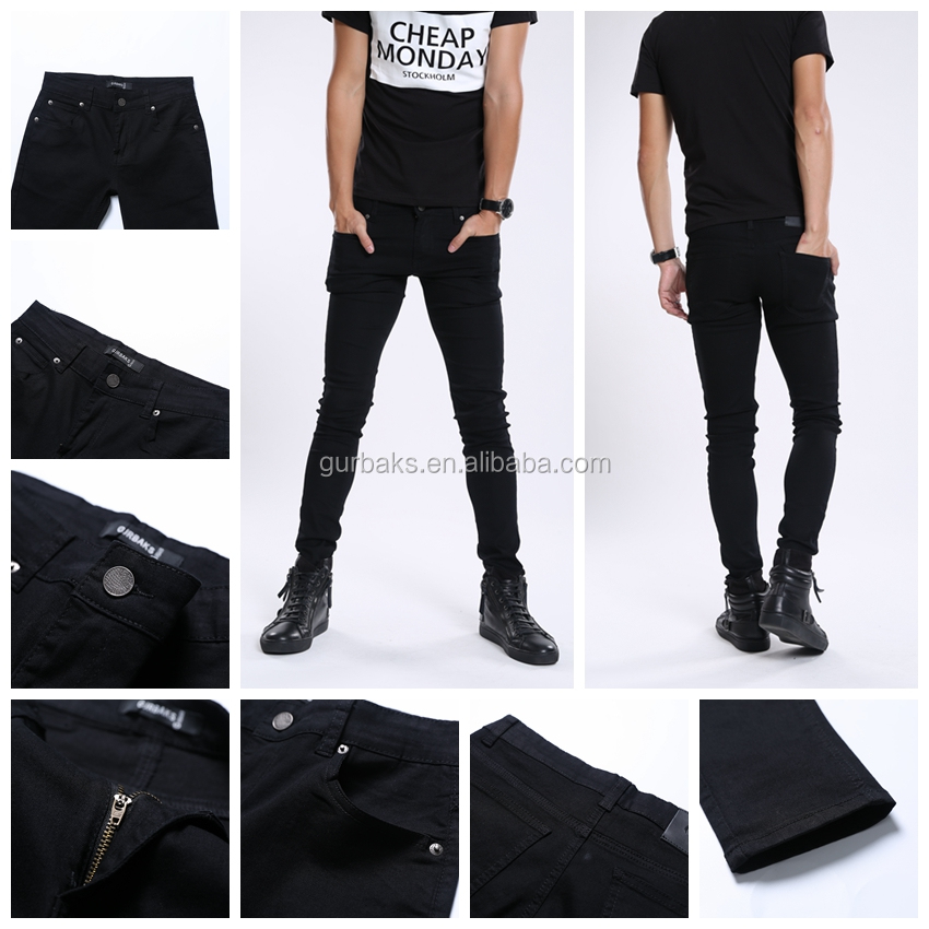 Color Fade Proof New Popular Pencil Jeans For Men