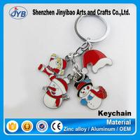 popular design christmas ornaments keyring cheap christmas items keychain for sale