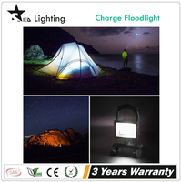 Wholes [STARLED]Portable outdoor and car charger working time 4h/8h/12h/16h 2200mAh battery 10w rechargeable led flood light