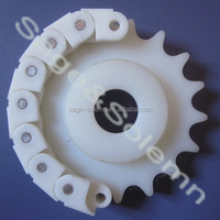 Non-Standard OEM Nylon Plastic Sprockets / Nylon Sprocket and Chain