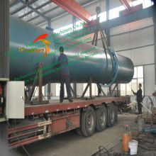 High Eficiency Rotary Dryer for red mud pond of alumina plant