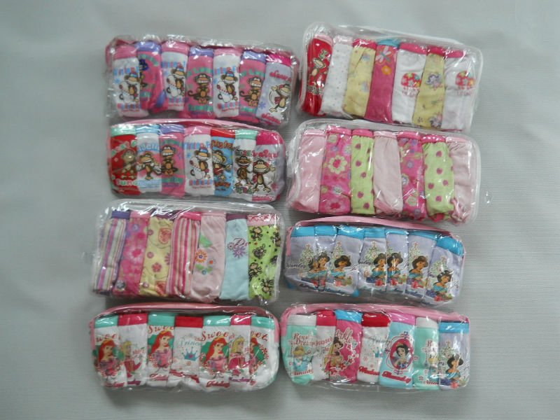 Branded Underwear for Girls size 2, 3, 4, 6, 8, 10 yrs