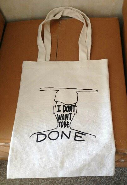custom high quality 100 cotton canvas tote bags