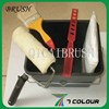 paint rollers and brushes,double rubber decorative paint roller brush,decorative paint roller brushes set