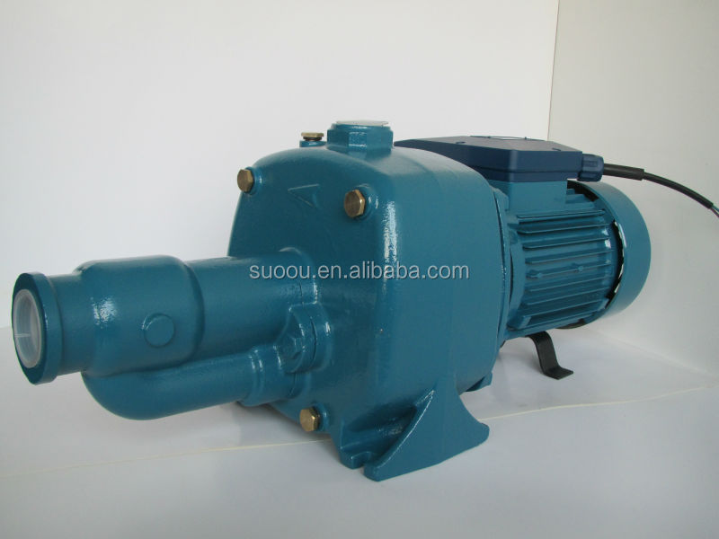 OEM brand 100% copper wire 1.5kw 2hp jet self-priming centrifugal water pump with CE certificated