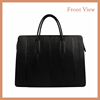 Latest Large Size Lady Genuine Leather Tote Bag With Customize Logo