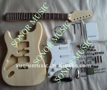 SNGK001 High Quality ST Style DIY electric guitar kits