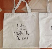 fashion Azo free 100% recycled cotton tote bags