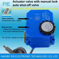 Building valve Auto shut-off valve for portable wate supply in Building Water leak detector alarm