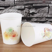 microwave disposable 12oz printed free sample paper cup