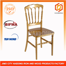 Gold Resin wedding Napoleon chair for rental businiss