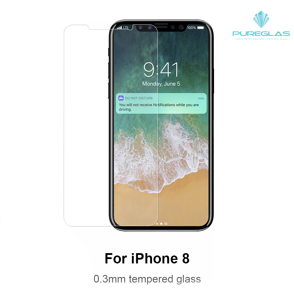 For iPhone X Anti-fingerprint free Sample OEM Mobile phone screen guard
