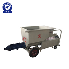Good performance tunnel use screw mortar cement pump machine