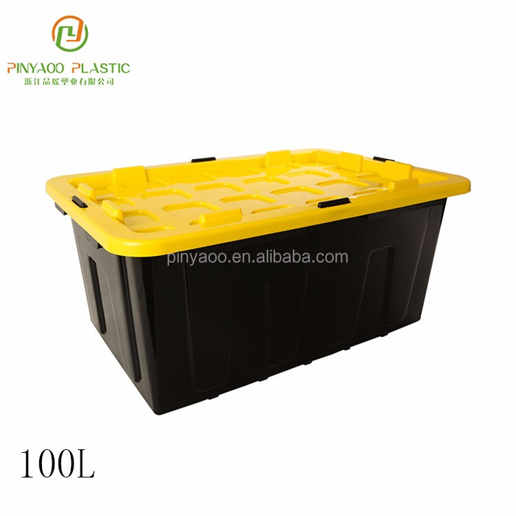 H0100 Professional Made PP Material Heavy Duty Garden Tool Storage Box