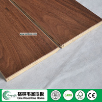 Top quality hardwood premium american walnut floors Manufacturer
