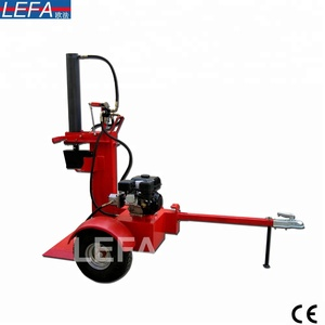 Italy Style automatic log splitter and saw machine with CE