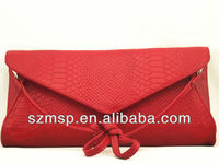 Genuine leather popular women handbag/shoulder bag/messenger bag, REACH test Sedex Pillar 4