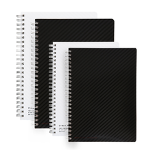 High quality custom printed spiral notebook wire-o plastic cover notebook