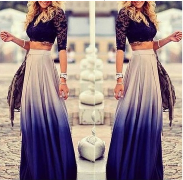 C67679A 2016 hot sale long skirt for women