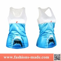2015 Fashion New Womens Shark Tank Top for Sale
